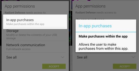 what is android vending in app purchase do users to grant the permission android vending billing on upgrade