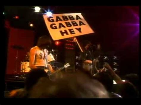 gabba gabba hey ramones the best gabba gabba hey pinhead