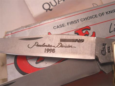 Norfolk Southern Background Check Trapper Knife 6254 Norfolk Southern Railroad Nib 1995