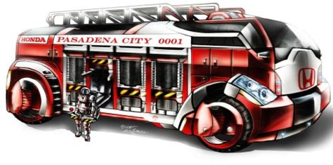 future is now fire truck concept