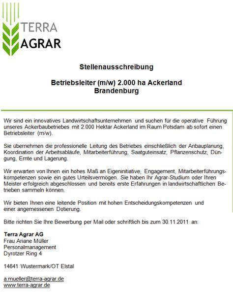 Bewerbung Fragen Zum Schlub Aktuelle Aus Dem Agrarbereich Agrar Stellenmarkt 09