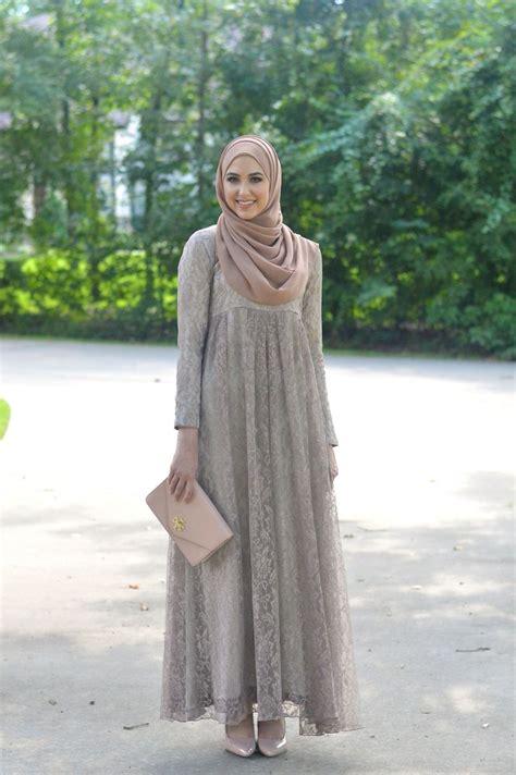 Maxi Dressdress Satindress Printingbaju Hijabbaju Muslim Wanita 1 25 model gamis lebaran terbaru 2018 simple modern