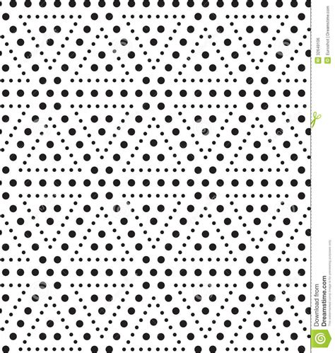 pattern dot geometric triangles of dots black and white abstract geometric sea