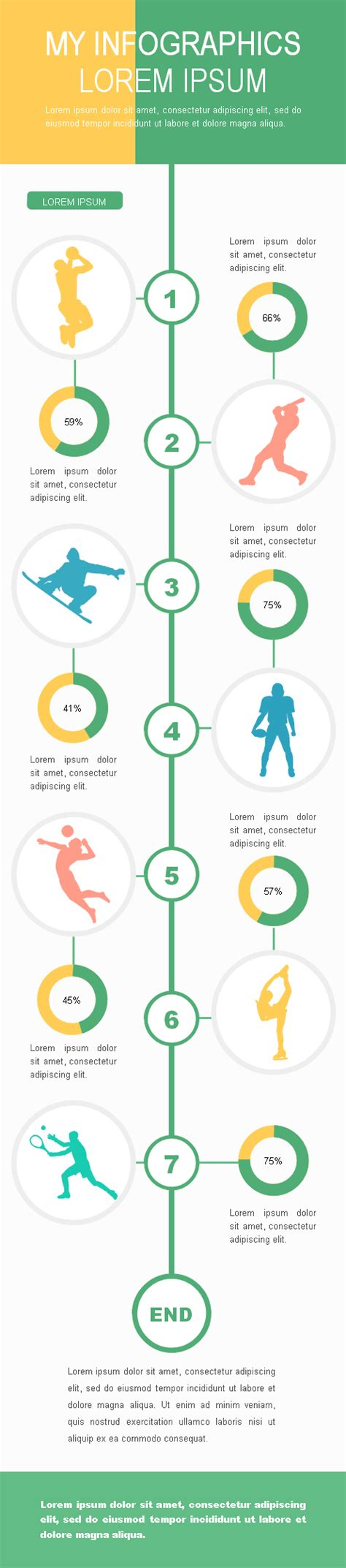 sports infographics templates choice image templates