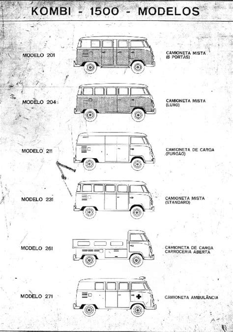 vw kombi parts thesamba vw 1500 kombi parts manual brazil