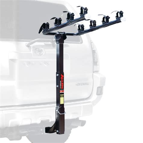 Bike Hitch Rack Reviews allen deluxe 4 bike hitch carrier review outdoorgearlab