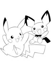 free coloring pages series pokemon
