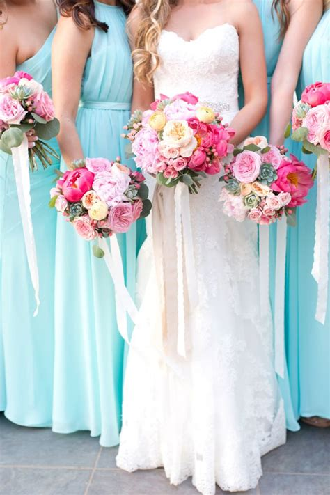 aqua green wedding ideas best 25 aqua wedding flowers ideas on pinterest aqua