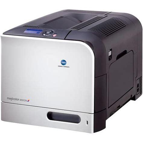 Printer Laser Warna Konica Minolta konica minolta magicolor 4650dn color laser printer a00f012 b h