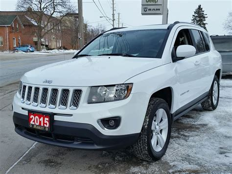 2015 Jeep Compass 2015 Jeep Compass High Altitude White Manley Motors
