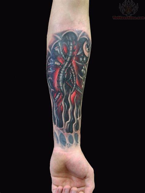 biomechanical wrist tattoo mechanical images designs