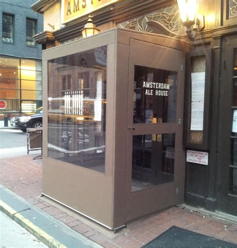 amsterdam ale house winter vestibules winter canopy sign expo nyc