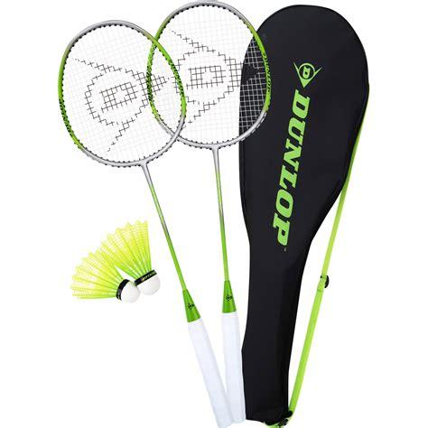 Raket Dunlop dunlop 2 player badminton racket set ebay