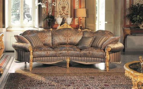 sofa klassisch three seater sofa carved that offers