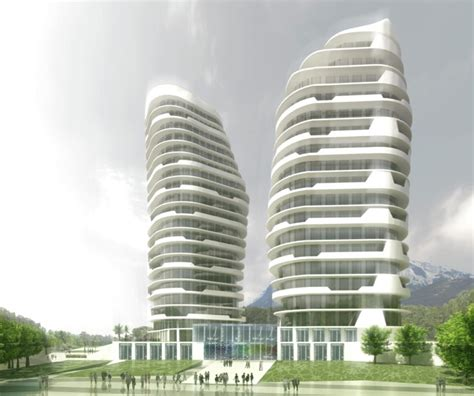 gallery of yademan tower architecture atelier 5 gallery of mcadam architects proposal for landmark mixed