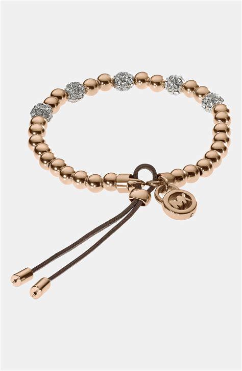 michael kors beaded bracelet michael by michael kors bead stretch bracelet in