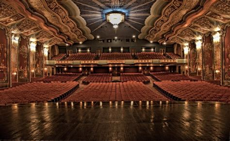most beautiful theaters in the usa about the paramount theatre aurora il