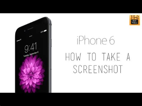 how to take a screen on iphone 6 doovi
