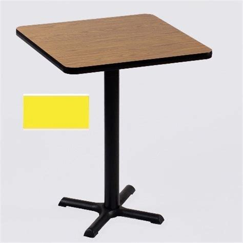 Standing Bar Table by Correll Bxb30s 38 Cafe And Breakroom Tables Square Bar
