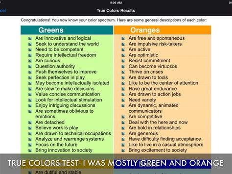 true colors orange true colors personality test true colors personality