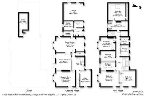 apex floor plans apex plans exles professional property floor plans for estate agents