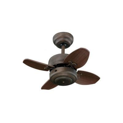 home depot small ceiling fans monte carlo mini 20 20 in roman bronze ceiling fan