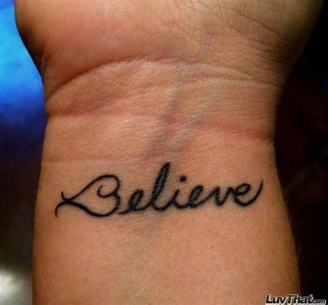 believe tattoo on hand believe wrist tattoos for girls www pixshark com