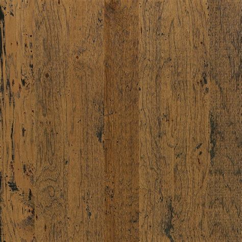 Prefinished Engineered Hardwood Flooring Shop Shaw Appalachian Hickory 5 In W Prefinished Hickory Engineered Hardwood Flooring