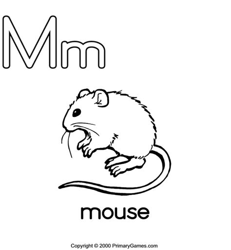 Abc Coloring Pages Primarygames Com Free Printable Mm Coloring Pages