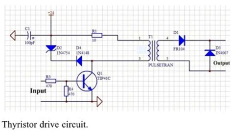 transformer coupling in pspice transistors can we replace the pulse transformer with some other circuit element in this