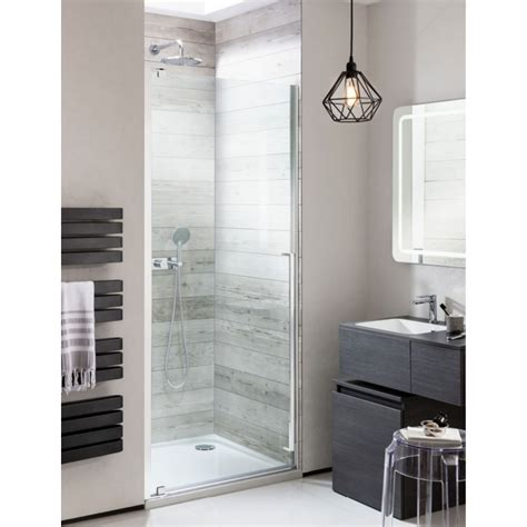 Hinged Shower Doors Simpsons Pier Hinged Shower Door 800mm