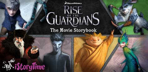 book two of the guardians books rise of the guardians storybook