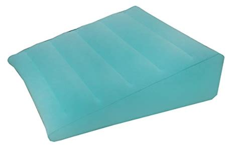 inflatable wedge pillows for bed obbomed hr 7510n inflatable bed wedge pillow with velour