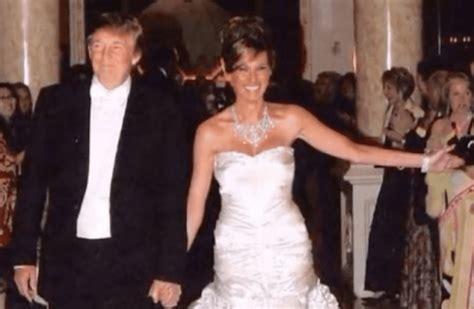 donald trump zyciorys inside melania and donald trump s extravagant wedding