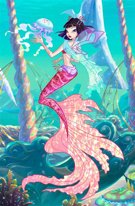 vidia mermaid by other fairies on