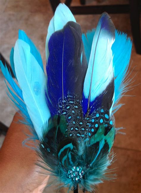 Blue Goose Feathers Scraf Leher 61 best my creations a something different