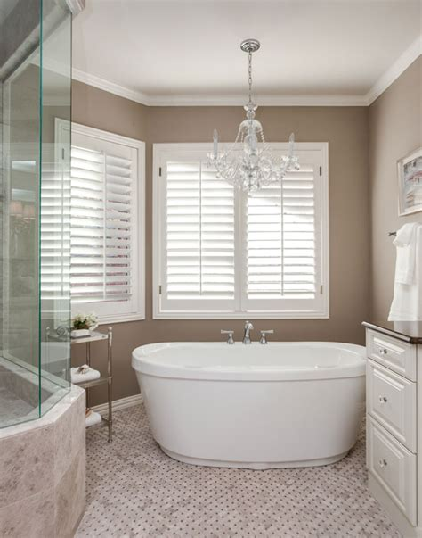 Light Above Bathtub by Greenwood Bathroom Remodel Project Soaking Tub