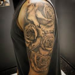 street city tattoos roses half sleeve that i cant