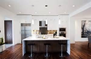 White Island Kitchen by Home Designss Dot Dot White Modern