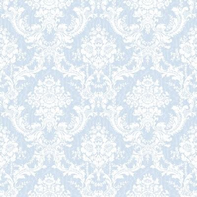 At Satin Mawar Navy light blue ornate floral wallpaper tileable background image wallpaper or texture free for any