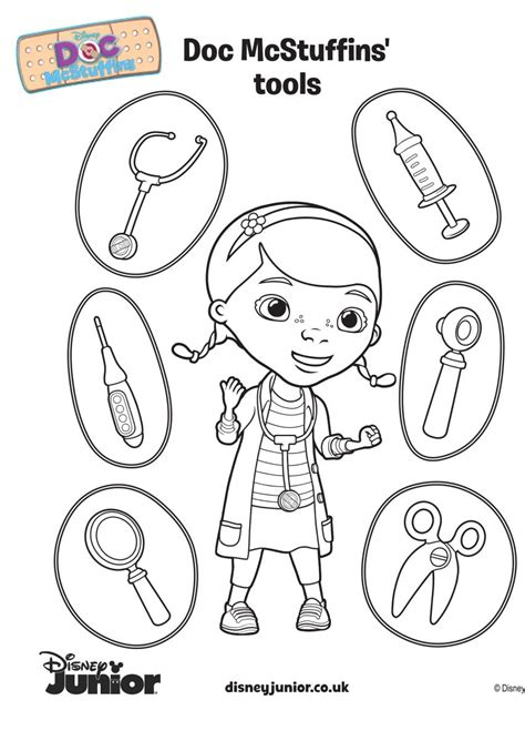doc mcstuffins halloween coloring pages coloring pages