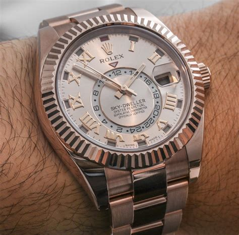 Rolex Balok Silver Cover Silver rolex sky dweller new gold colors on