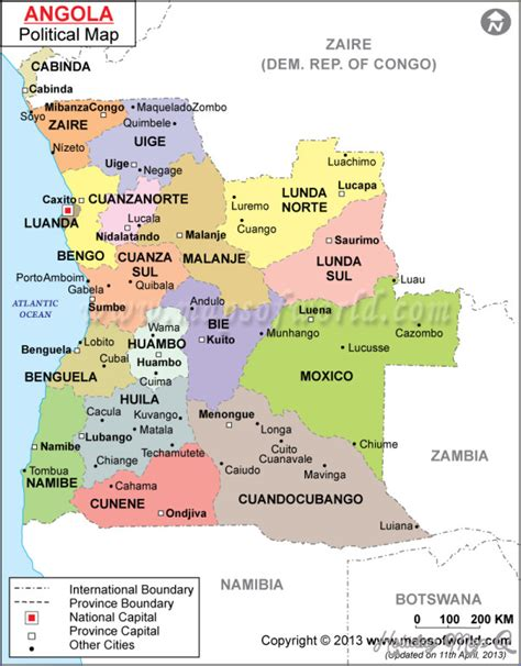 angola map angola map tourist attractions map travel holidaymapq
