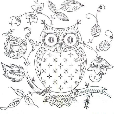 printable owl patterns free owl template coloring pages