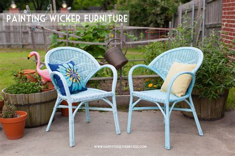painting patio furniture painting wicker patio furniture chicpeastudio