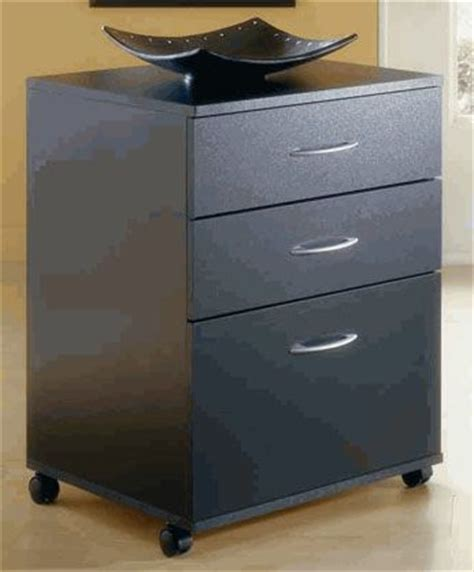 3 drawer black file cabinet nexera pablo series 3 drawer mobile file cabinet black 6092