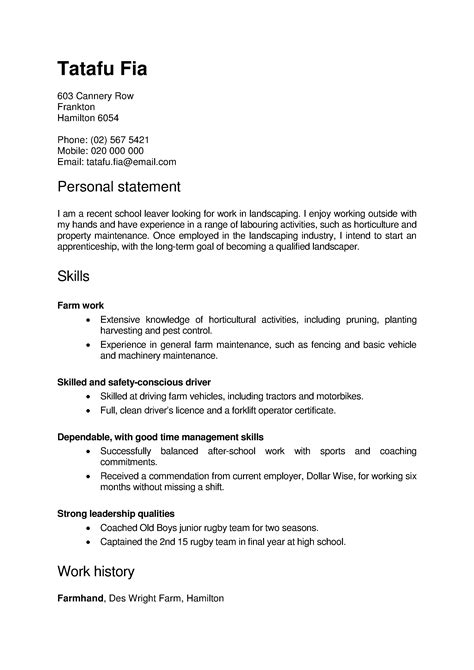 careers nz cover letter cv and cover letter templates