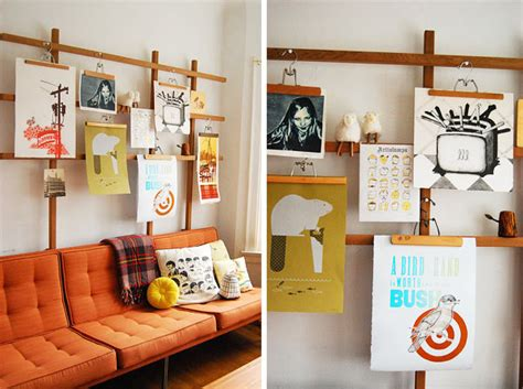 creative ways to display photos without frames diy 3 ways display art without frames design trend