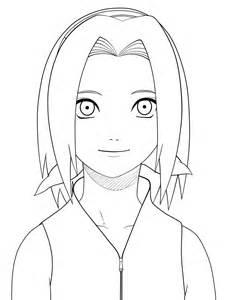 Desenhos Para Colorir Da Sakura Do Naruto Sketch Coloring Page sketch template
