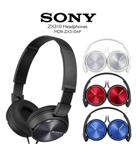 Headphone Sony Mdr Zx310ap sony mdr zx310ap lightweight headphones powerful